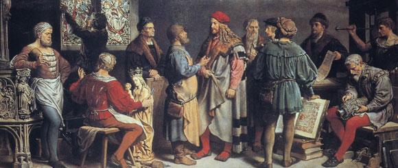 Friedrich Wanderer 1901 painting